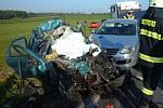 U Úlibic se stala tragická dopravní nehoda.