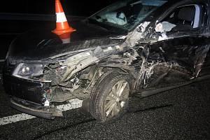 Řidič u Dolního Lochova byl při nehodě pod vlivem alkoholu.