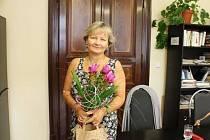 JANA SIEBEROVÁ si v redakci převzala ocenění ze soutěže Žena Jičínska, kde získala od čtenářů nejvíce hlasů.