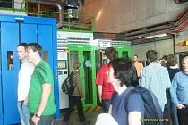 Z návštěvy ženevského CERNu.