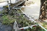Povodně v Hrádku nad Nisou a okolí.
