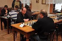 Šachový turnaj KPD blesk Železnice.