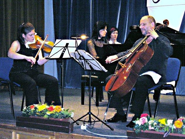 Z koncertu Smetanova tria