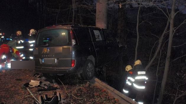 Tragická nehoda u Dolního Javoří.