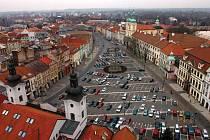 Královéhradecké Velké náměstí.