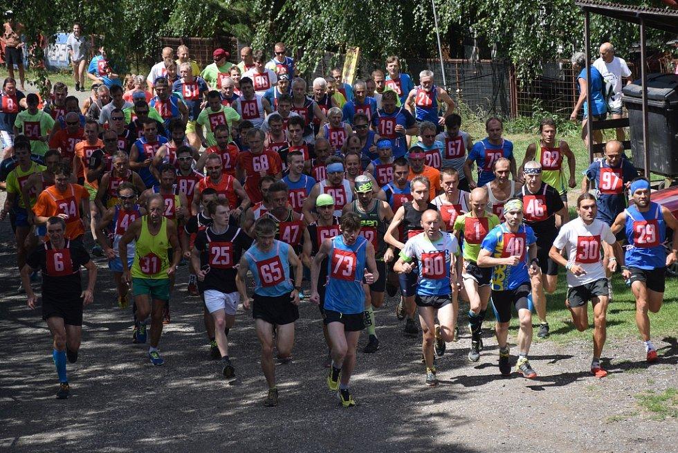 Běh lužanskými hvozdy 2018