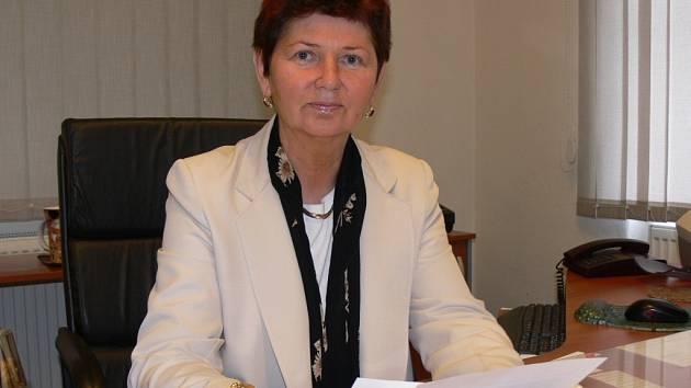 Věra Hlostová, starostka Staré Paky.