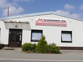 Z areálu firmy Masokombinát Jičín.