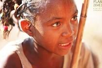 Malgašská holčička.