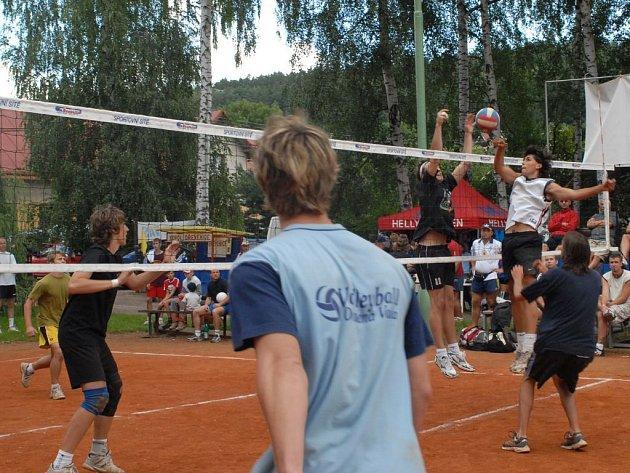 Volejbalová Dřevěnice.
