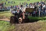 Traktoristé si již podesáté dali dostaveníčko ve Zboží.
