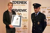 Zdeněk Bradáč dosáhl dalšího světového rekordu.
