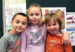 Žáci 1. třídy ze  ZŠ Jeřice