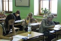 Státní maturity v Jičíně.
