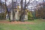 Podzim okolo bělohradského Pardoubku.
