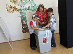 Volby v Třebnouševsi.