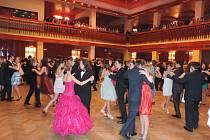 Taneční kurz ve valdickém kulturním domě.