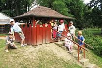 Děti z Bělohradské mateřské školy.