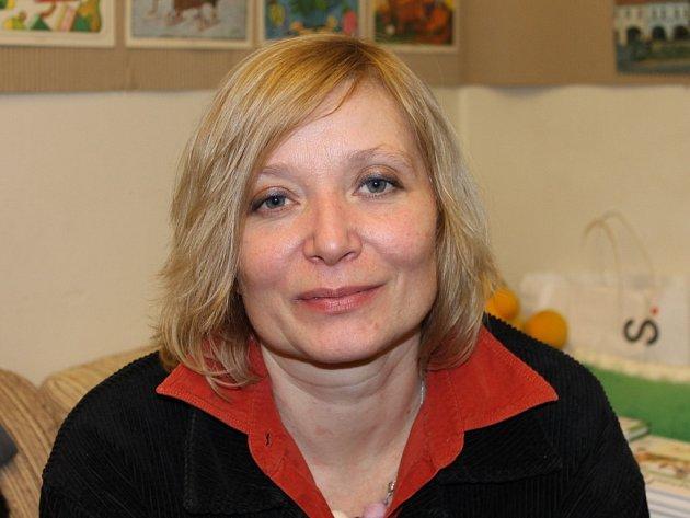 Spisovatelka Petra Braunová.