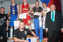 Mistrovství republiky v boxu v Jičíně.