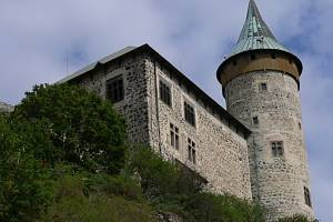 Hrad na Kunětické hoře.