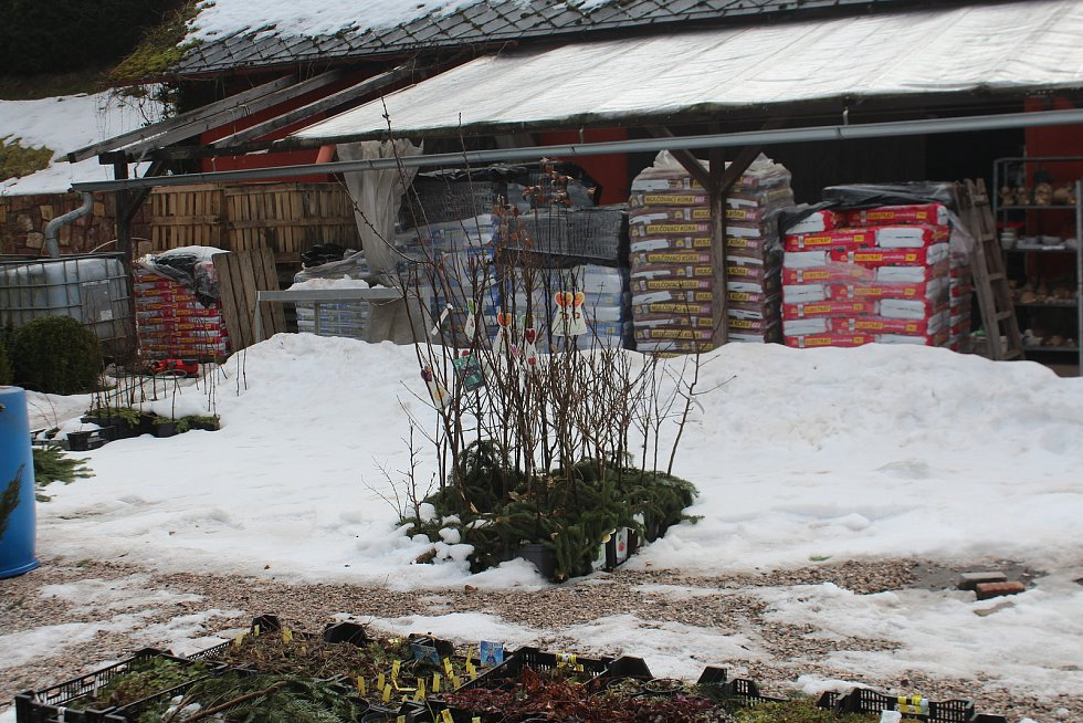 Zahradnictví v Čisté u Horek