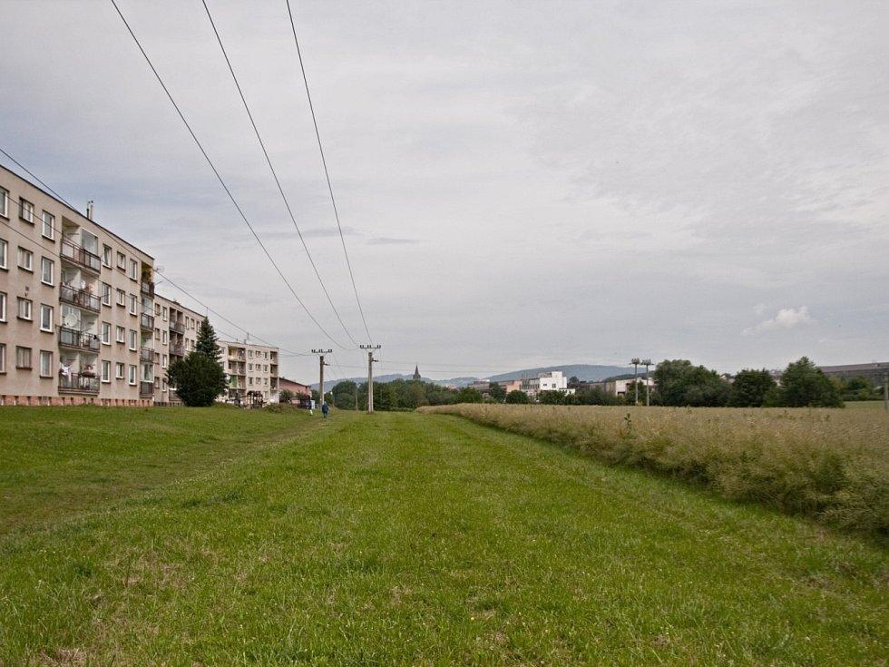 Zóna u řeky Cidliny.