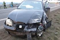 Dopravní nehoda na obchvatu Jičína.
