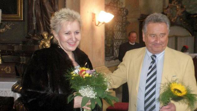Eva Urbanová se Zdeňkem Vokurkou.