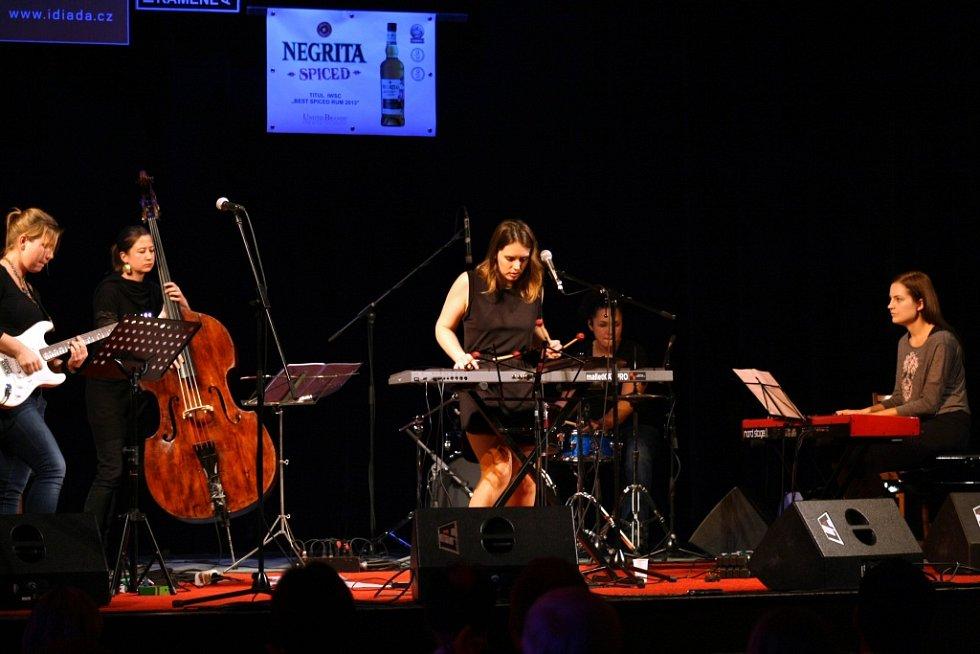 Hořické JazzNights 2013: Ludmila Štefánková.