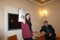 Beseda v jičínské židovské škole se věnovala práci českých médií.