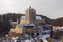 Hrad Kost mimořádně v zimním období otevřel.