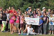 Tábor mladých diabetiků ve Štikově.