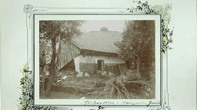 Třebovětice postihla roku 1909 velká povodeň.
