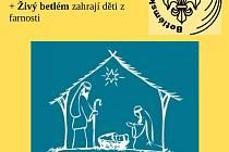 Děti z hořické farnosti zahrají živý Betlém.