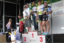 NA BEDNĚ. Ondřej Mikule a Daniel Polman byli nakonec s třetím místem spokojeni.