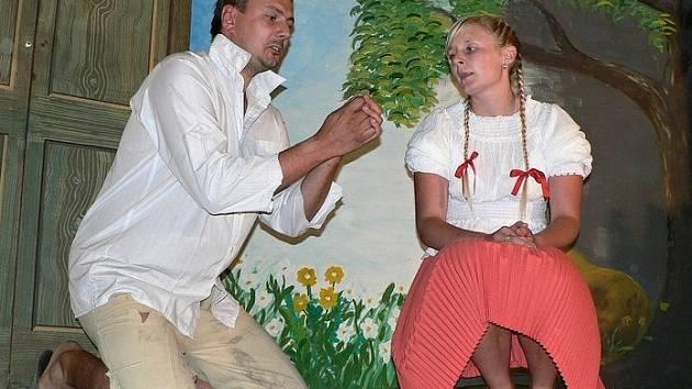 Od divadelníků z Bílska u Hořic.