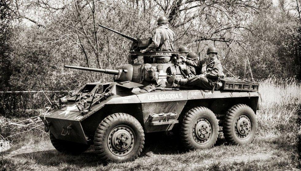 Vojenská technika 2. světové války.