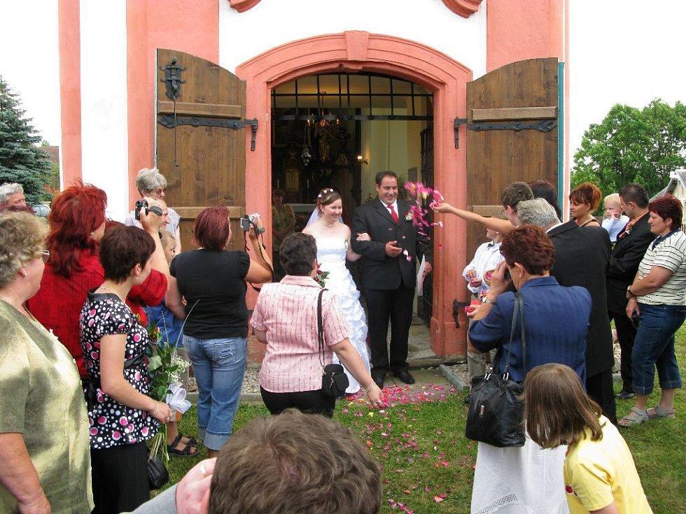 V bukvickém kostele se konají také svatby.