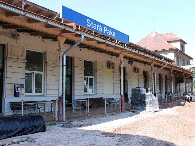 Staropacký železniční uzel v rekonstrukci.