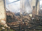 Požár vznikl nedbalostí