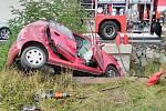Dopravní nehoda u Červené Třemešné měla tragický konec.