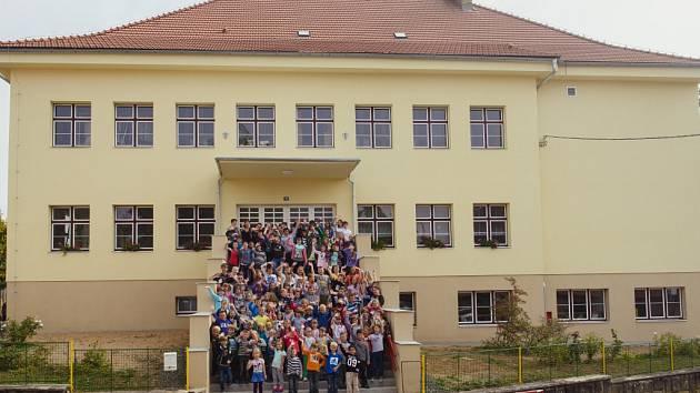 Železnická škola po rekonstrukci.