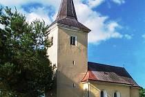 Kostel Nalezení sv. Kříže ve Zlivi.