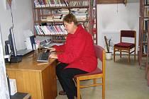 Knihovna v Libošovicích.