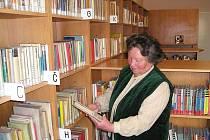 Knihovna v Libuni.