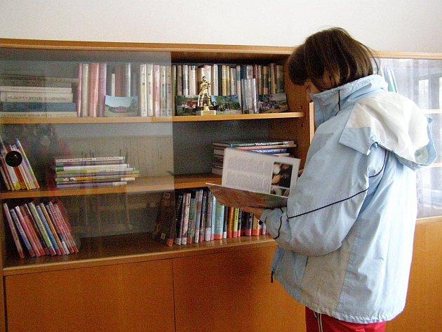 Knihovna v Libunci.