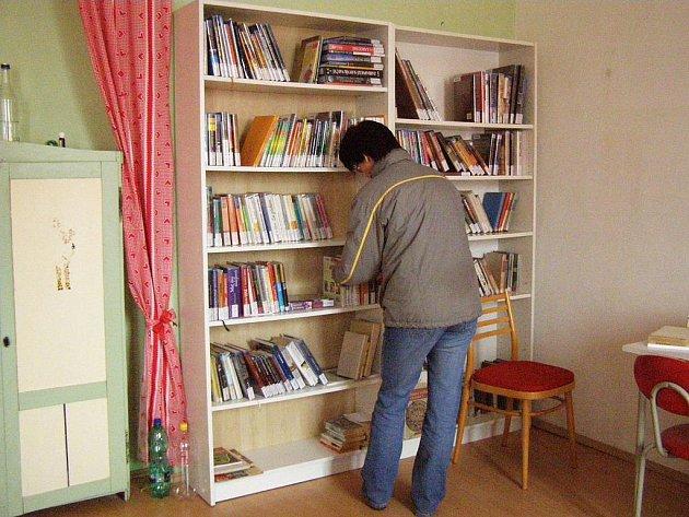 Knihovna v Markvarticích.