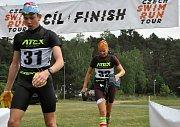 Sportovní zážitky na prvním závodě Czech Swimrun Tour