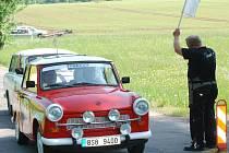 Setkání majitelů a příznivců značky Trabant.